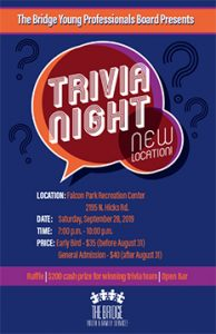 BYFS Fall Trivia Night